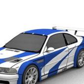 Bmw M3 Gtr Racing Car