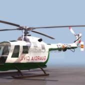 Navy Bo105 Light Helicopter
