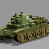 Bt7 Tank Weapon
