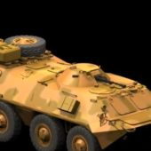 Military Btr-70 Armored Carrier