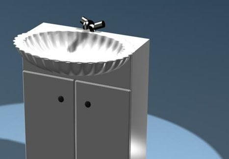 Furniture Bathroom Cabinet Basin