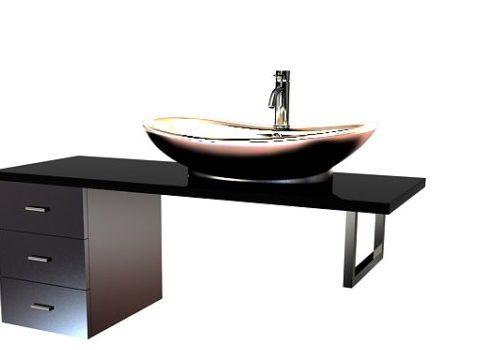 Furniture Bathroom Cabinet Vanity Unit