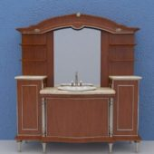 Bathroom Furniture Vanity With Hutch