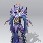 Battle Mage Concept Game Character
