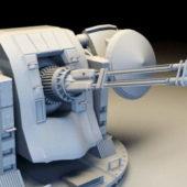 Navy Battleship Gun Turret
