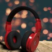 Beats Red Headphones