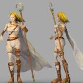 Character Beautiful Female Mage