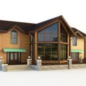Modern Design Wooden House