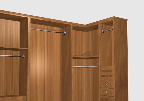 Bedroom Corner Closet Furniture