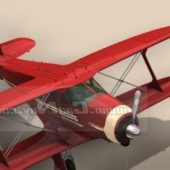 Beechcraft Staggerwing Utility Plane