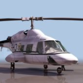 Helicopter Bell 222 Twin Engine