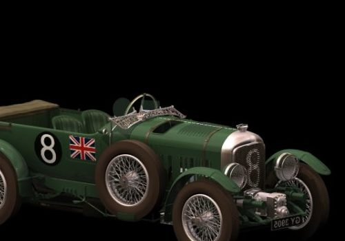 Classic Bentley Sports Car