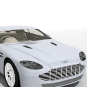 White Bentley Car