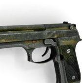 Gun Beretta M9 Semiautomatic Pistol