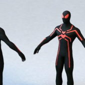 Spiderman Game Character
