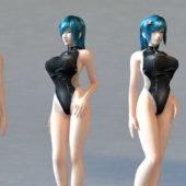 Bikini Character Girl