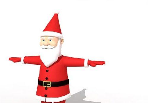 Character Biped Santa Claus