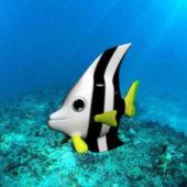 Sea Butterfly Fish Animal