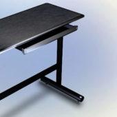 Black Furniture Computer Desk