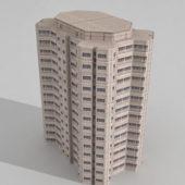Modern Office Block Building