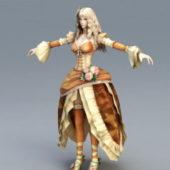 Blonde Princess Character