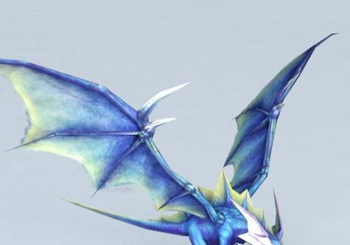 Animal Blue Fairy Dragon