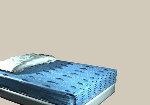 Blue Mattress Bed Furniture