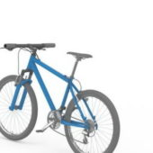 Blue Color Mountain Bicycle