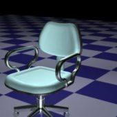 Blue Revolving Chair Furniture