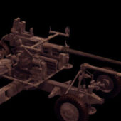 Military Bofors Anti Aircraft Gun