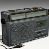 Vintage Radio Cassette Player