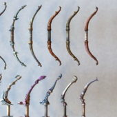 Ancient Bow Weapon Collection