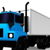 Vehicle Box Van Truck