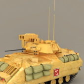 Bradley Infantry Fighting Military Vehicle