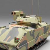 Military Us Bradley Fighting Vehicle