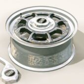 Braid Car Wheel Rim
