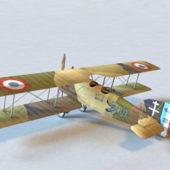 Breguet 14 Bomber Plane