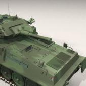 British Military Scorpion Tank