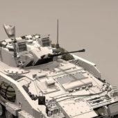British Military Warrior Apc Vehicle