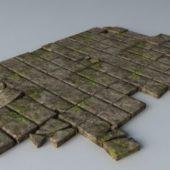 Broken Brick Floor