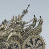 Bronze War Chariot Weapon
