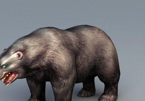 Russian Brown Bear Animal