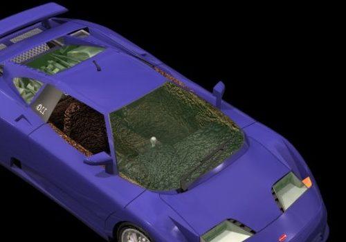 Bugatti Eb110 Super Car