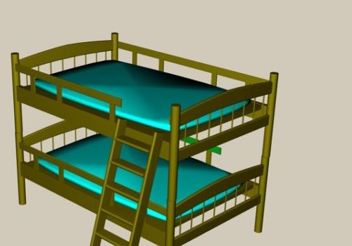 Bunk Bed Furniture With Ladder