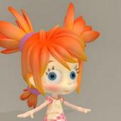 Cg Little Girl Character