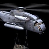 Sikorsky Ch-53e Transport Helicopter
