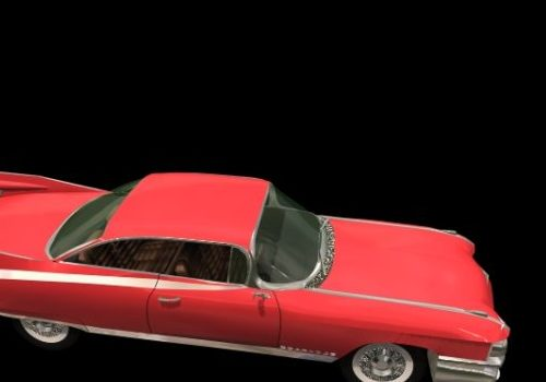 Vintage Cadillac Eldorado Luxury Car
