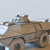 Military Cadillac Gage Armored Vehicle