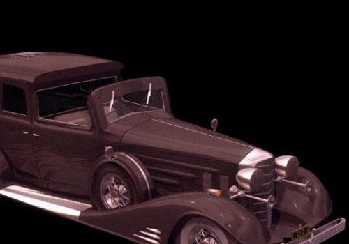 Vintage Car Cadillac Type-51 Automobile