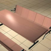 Cafeteria Table Benches Furniture